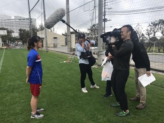 Đội U19 nữ Việt Nam thắng trận đầu tại Nhật Bản ảnh 1