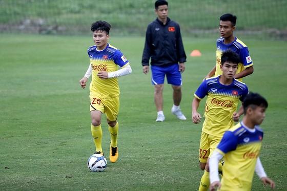 Tân thủ quân đội U23 Việt Nam Nguyễn Quang Hải. Ảnh: MINH HOÀNG