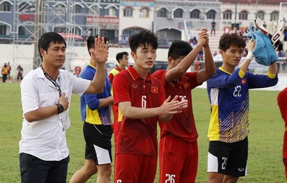 Đội U22 Việt Nam không thành công tại SEA Games 29. Ảnh: DŨNG PHƯƠNG