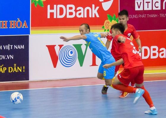 Sanna Khánh Hòa sớm giành vé vào vòng 2 sau 3 trận thắng liên tiếp. Ảnh: Anh Trần