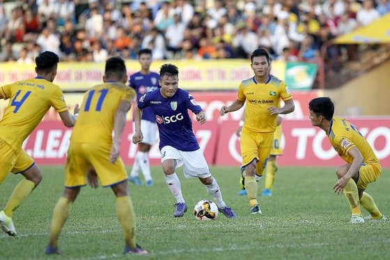 Quang Hải liệu có cùng CLB Hà Nội giành lại ngôi đầu bảng sau vòng 4? Ảnh: MINH HOÀNG