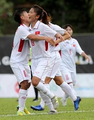 Đội nữ Việt Nam toàn thắng ở bảng B vòng loại Olympic 2020 ảnh 1