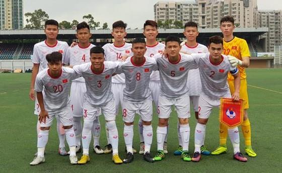 Đội U18 Việt Nam. Ảnh: Đoàn Nhật