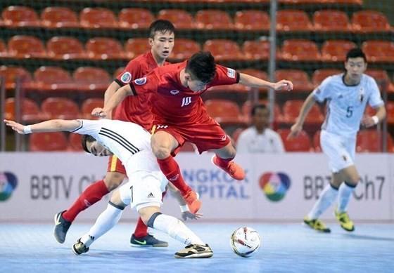 Cuộc so tài giữa hai đội U20 Việt Nam và Nhật Bản vào năm 2017. Ảnh: Đoàn Nhật