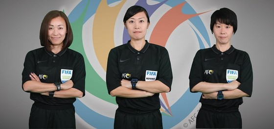 Tổ trọng tài nữ sẽ điều hành trận Yangon - Naga World