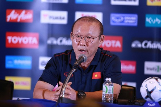 HLV Park Hang-seo khẳng định là ông rất coi trọng giải đấu này. Ảnh: Dũng Phương
