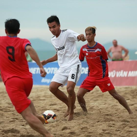 Khánh Hòa tranh chung kết cùng Đà Nẵng tại giải bóng đá bãi biển 2019 ảnh 1