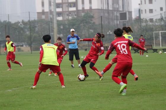 Đội tuyển nữ Việt Nam đã hoàn tất 4 trận tập huấn trước khi sang Nhật Bản. Ảnh: Đoàn Nhật