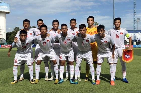 Đội U15 Việt Nam. Ảnh: Đoàn Nhật