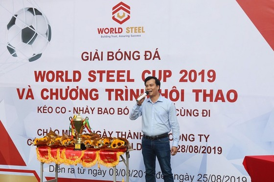 Công ty CP Worldsteel tổ chức hội thao năm 2019 ảnh 1