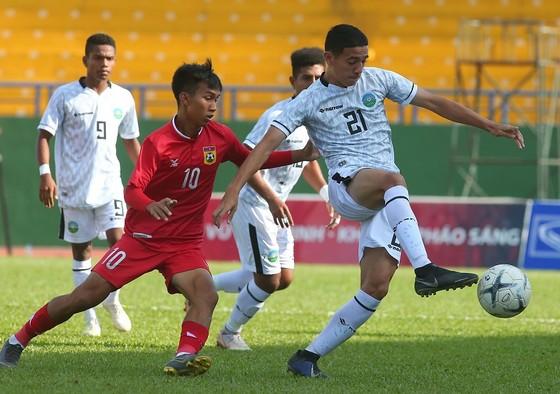 Philippines có chiến thắng an ủi 4-0 trước Brunei. Ảnh: NGUYỄN NHÂN