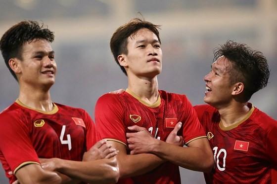 Đội U22 Việt Nam chuẩn bị cho SEA Games 2019. Ảnh: Hoàng Hùng
