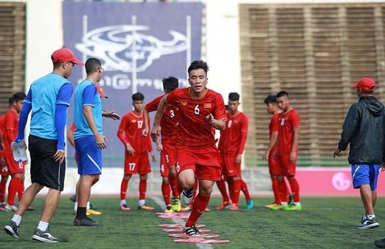 Đội tuyển U22 Việt Nam chuẩn bị gặp đội tuyển U22 Trung Quốc ảnh 1