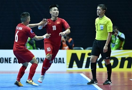 Đức Hòa và Đức Tùng đang là những trụ cột của ĐT Futsal Việt Nam hiện nay. Ảnh: ANH TRẦN