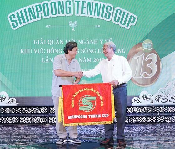 Kết thúc giải Quần vợt ngành Y tế ĐBSCL - Cúp Shinpoong 2019 ảnh 1