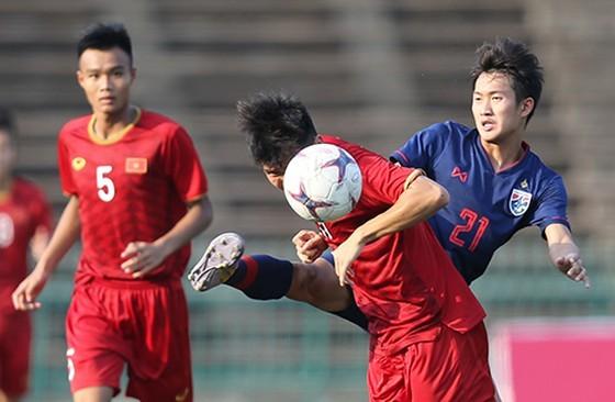 U22 Việt Nam có thể gặp Thái Lan từ vòng bảng. Ảnh: DŨNG PHƯƠNG