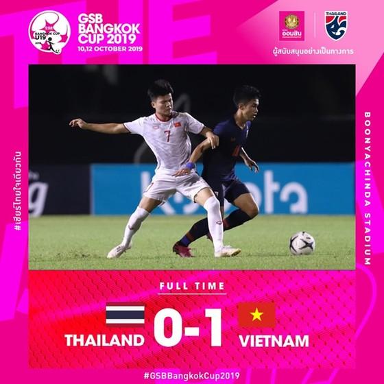 U19 Việt Nam vượt qua chủ nhà Thái Lan để vào chung kết