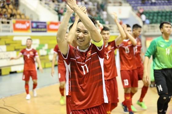 Tuyển futsal Việt Nam thoải mái sau chiến thắng trước Australia  ảnh 1