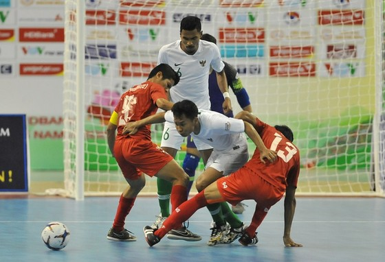 Indonesia đã có chiến thắng chật vật trước Myanmar. Ảnh: Anh Trần