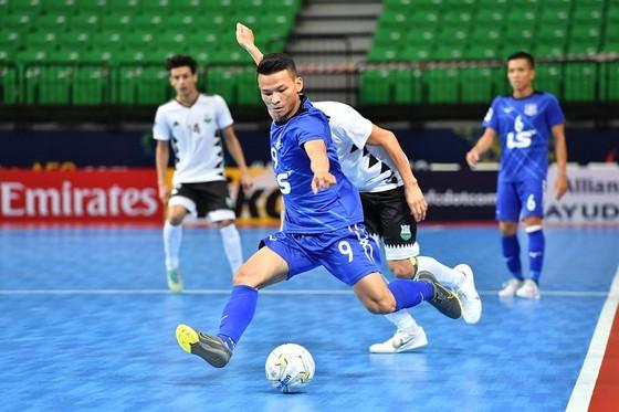 Thái Huy thi đấu nổi bật ở mùa bóng 2019. Ảnh: Anh Trần