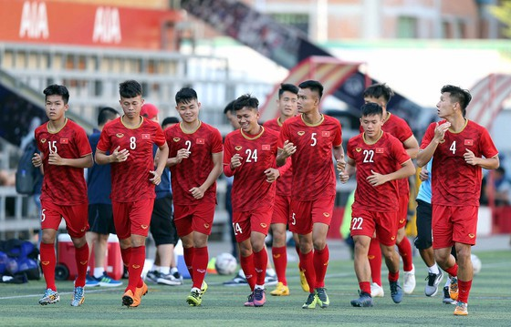 U22 Việt Nam hướng đến mục tiêu HCV ở SEA Games 2019. Ảnh: Dũng Phương