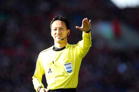 Trọng tài Jumpei Iida. Ảnh: AFC