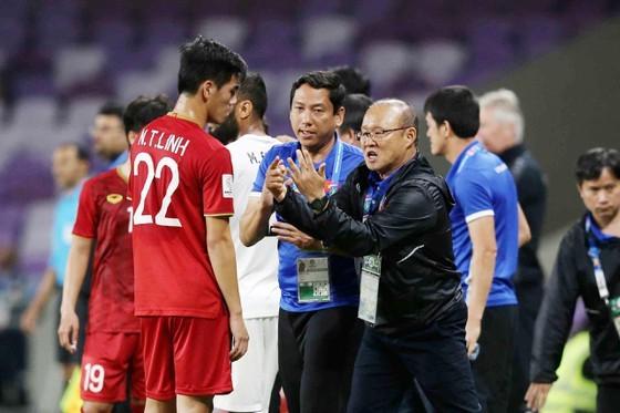 Việt Nam chuẩn bị cho 2 trận quan trọng với UAE và Thái Lan trên sân nhà. Ảnh: Minh Hoàng