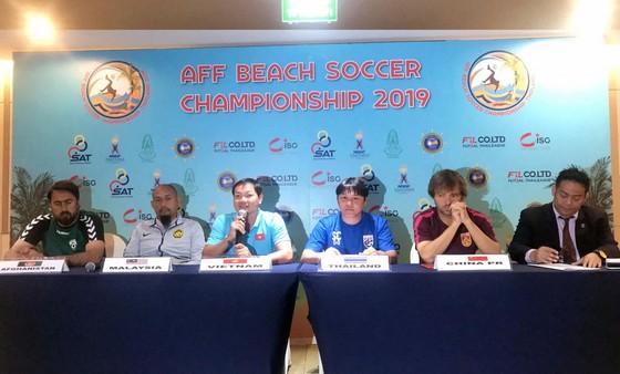 Việt Nam đặt mục tiêu vô địch giải bóng đá bãi biển Đông Nam Á 2019 ảnh 1