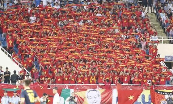 CĐV đội tuyển Việt Nam. Ảnh: Dũng Phương