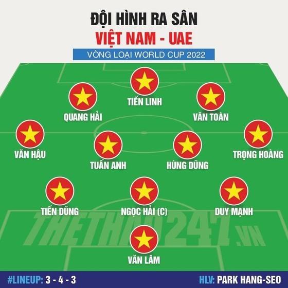 Việt Nam - UAE 1-0: Việt Nam vươn lên ngôi đầu bảng G ảnh 4