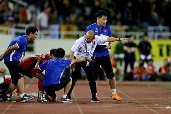 Niềm tin chiến thắng dành cho đội tuyển Việt Nam ngày càng tăng cao. Ảnh: Minh Hoàng