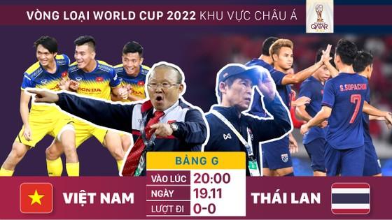 Việt Nam thắng 3, hoà 5, thua 14 trong 22 lần gặp gỡ với Thái Lan. Đồ hoạ: Hữu Vi