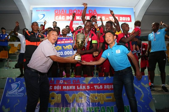Đội bóng châu Phi vô địch TL5 năm 2019 ảnh 2