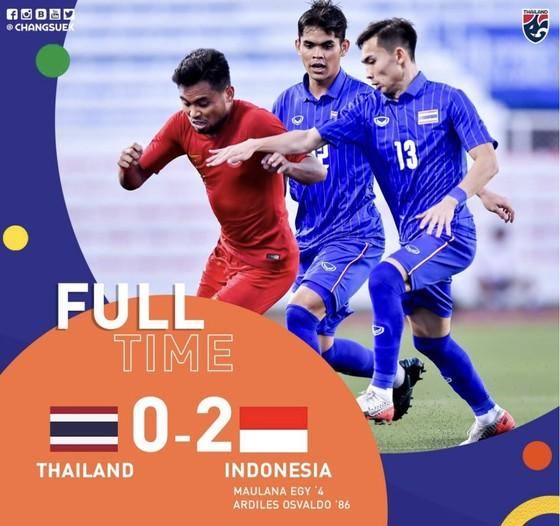 Thái Lan bất ngờ trắng tay trước Indonesia ở trận ra quân