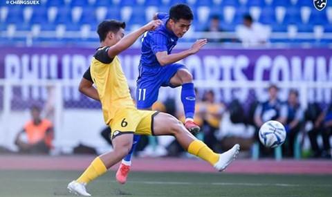 Thái Lan thắng dễ Brunei