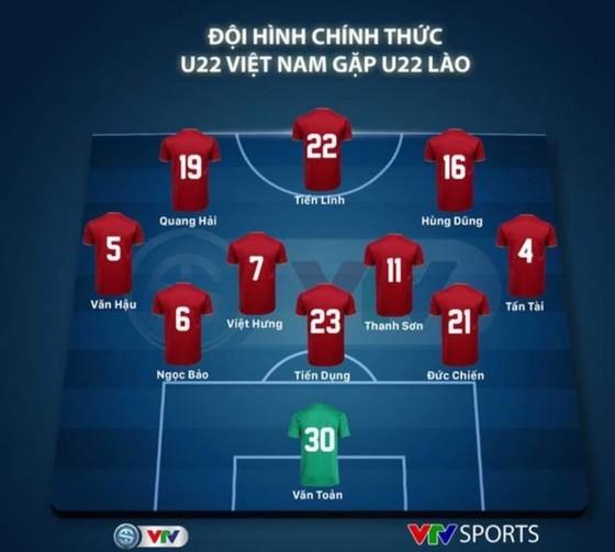 Việt Nam - Lào 6-1: Quang Hải ghi bàn thứ 6 cho đội nhà ảnh 1