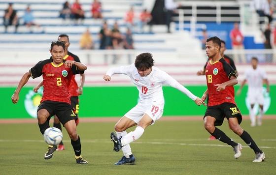 Thắng Timor Leste 3-1, Myanmar rộng cửa vào bán kết ảnh 1