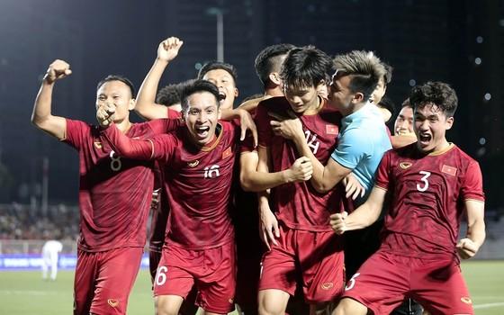 ĐT U22 Việt Nam không để thua trận nào từ đầu giải. Ảnh: Dũng Phương