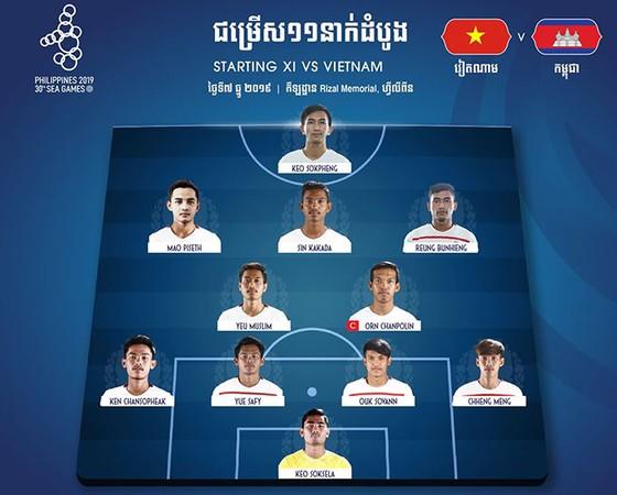 Việt Nam - Campuchia 4-0: Nhẹ nhàng vào chung kết ảnh 2