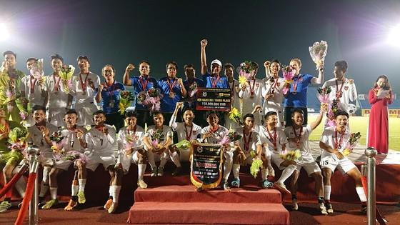 U20 Myanmar giành Huy chương đồng. Ảnh: Nguyễn Nhân