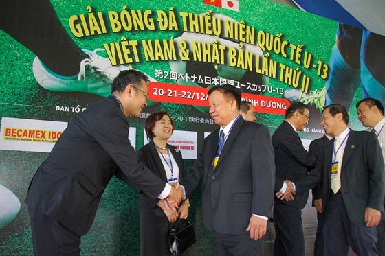 Giải bóng đá Thiếu niên Quốc tế U13 Việt Nam – Nhật Bản lần thứ 2 ảnh 1
