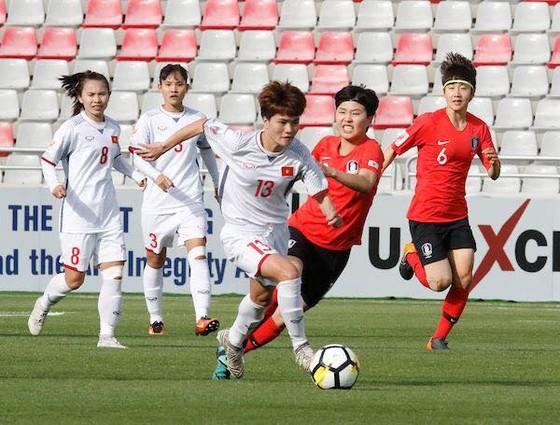 ĐT nữ Việt Nam sẽ gặp Hàn Quốc ở vòng đấu bảng.