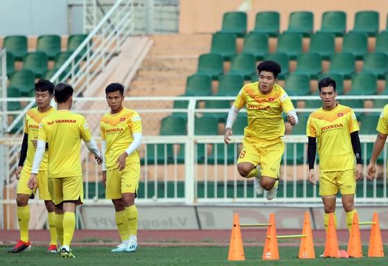 Hà Đức Chinh, 1 trong 8 cầu thủ giành ngôi Á quân U23 châu Á 2018. Ảnh: Anh Khoa