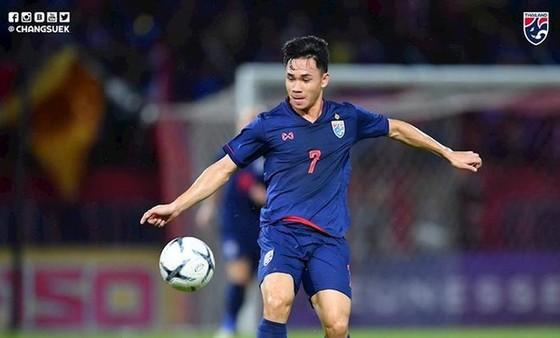 Supachok, một trong những trụ cột của U23 Thái Lan