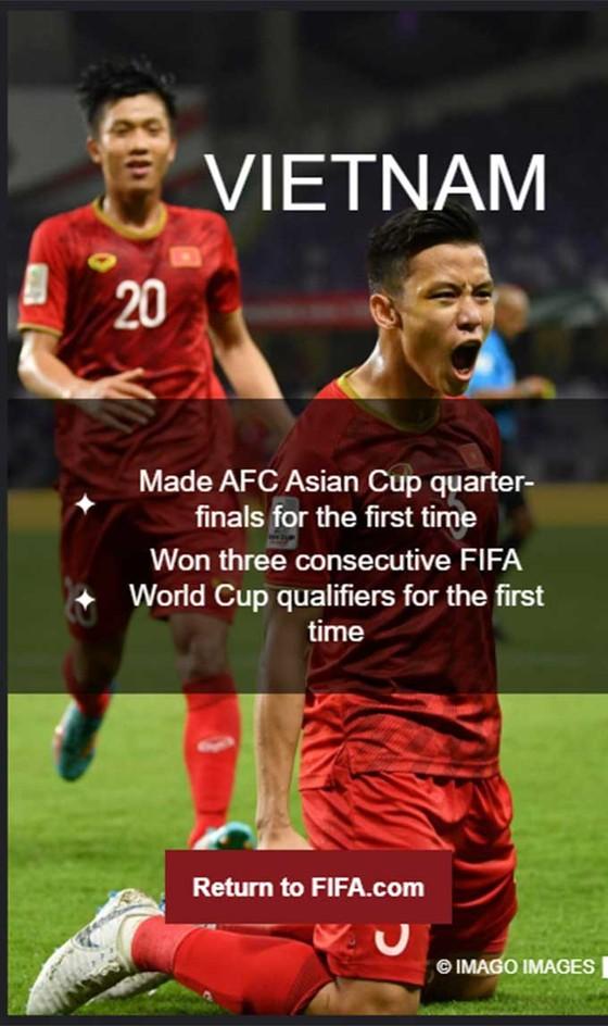 Việt Nam vào tốp 11 đội tuyển ấn tượng nhất thế giới 2019 ảnh 1
