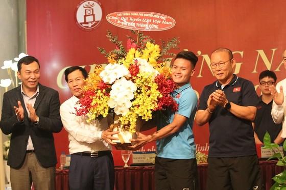 Bộ trưởng Nguyễn Ngọc Thiện giao nhiệm vụ cho U23 Việt Nam  ảnh 1