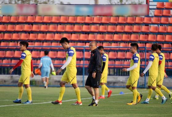 U23 Việt Nam đã hoàn tất trận đấu tập với Bahrain với kết quả thua 0-1. Ảnh: ANH KHOA