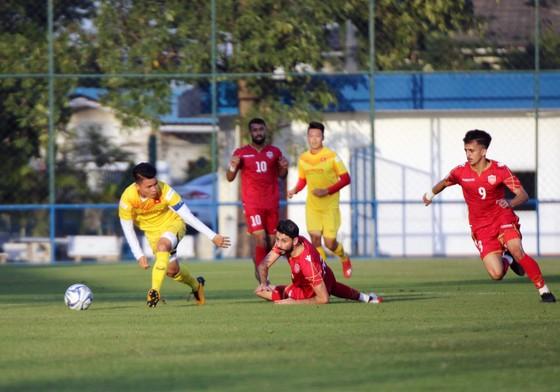 U23 Việt Nam thất bại ở trận đấu tập với Bahrain   ảnh 1