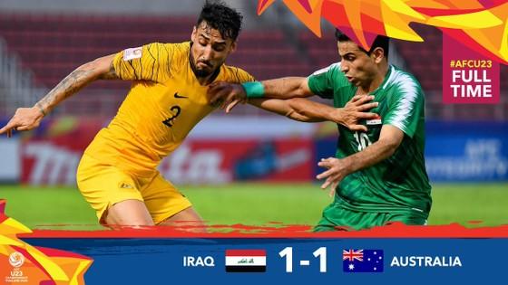 Australia và Iraq chia điểm ở ngày ra quân. Ảnh: AFC