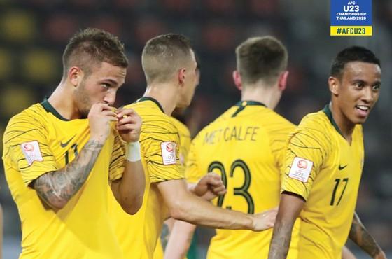 U23 Australia và U23 Iraq chia điểm trong trận khai mạc ảnh 1